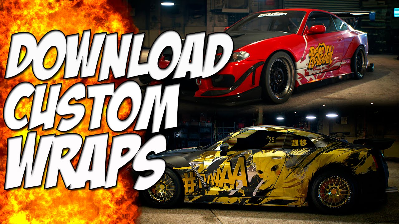 Need for speed download custom wraps new showcase update nfs 2015 youtube