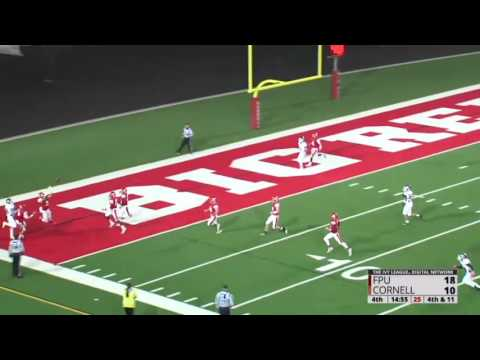 Highlights: Cornell Sprint Football vs. Franklin Pierce - 11/4/16