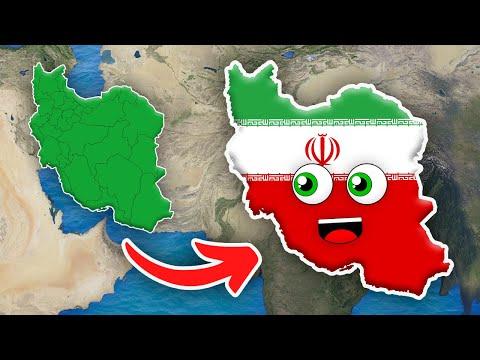 Iran Geography/Country of Iran/Iran Provinces