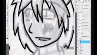 How I draw Jayden and Crusader in Photoshop