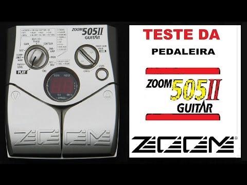 Review & Teste da Pedaleira Zoom 505 II
