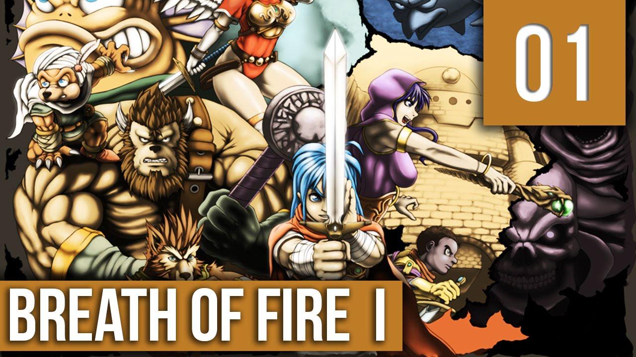 Breath of fire 1 detonado pt br#1 - O início