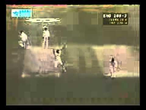 Stunning Run out by Venkatesh Prasad   India v England 3rd ODI 1996