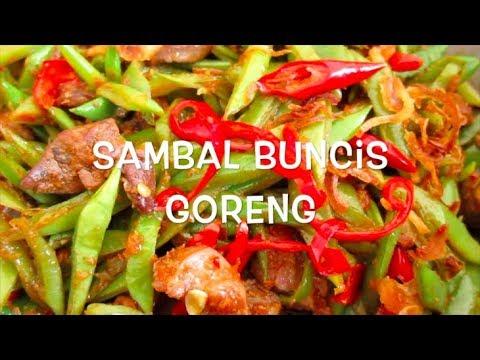 Sambal Buncis Goreng - Fried Green Beans Sambal