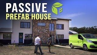 Ecoevo #5 A Great Prefab Passive House  Not A Tiny House!