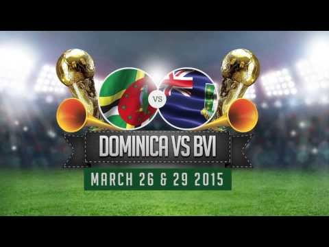 Dominica Vs British Virgin Island World Cup 2018 ad