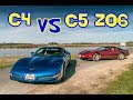 Face à face CORVETTE C4 vs C5 Z06