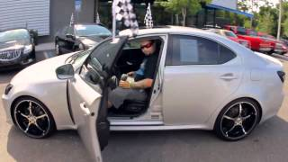 Autoline's 2007 Lexus IS 250 Walk Around Review Test Drive