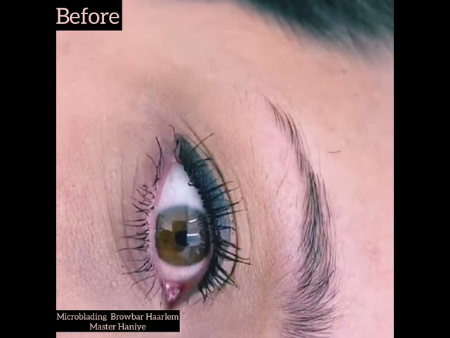 Browbar Haarlem Thereding - Lamination - Microblading - Waxed - Fluffy bushy Model Perfect Eybrow