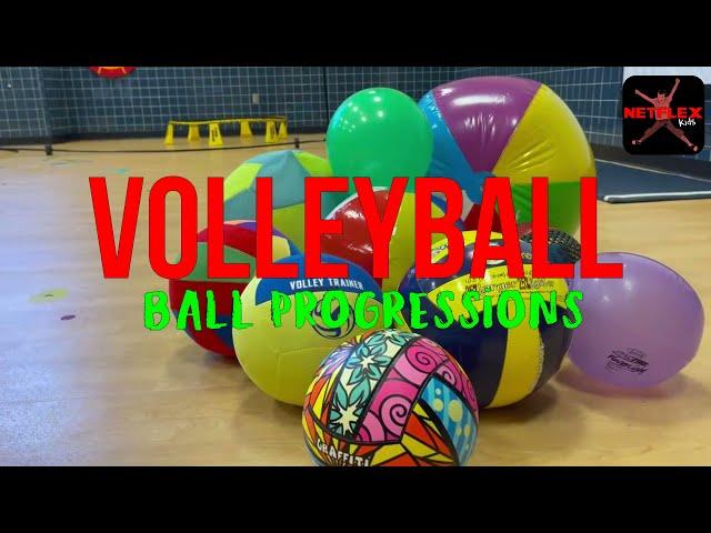 Volleyball Ball Progressions