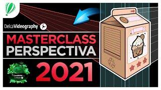 ✅ APRENDE TODO para DIBUJAR en PERSPECTIVA 👉🏼 CorelDRAW 2021 ▶ DelcaVideography