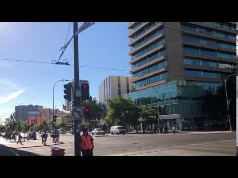 Adelaide city center 360view