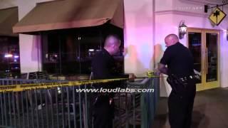 Victim Shot near UCLA / Westwood   RAW FOOTAGE