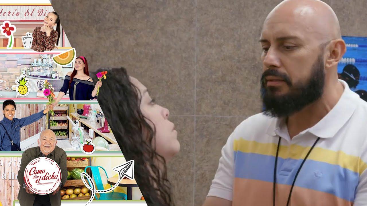 Rosa es intimidada por su entrenador Leandro   Quien oye aduladores...   Como dice el dicho