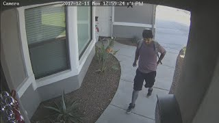 VIDEO: Homeowner takes on porch pirate in Phoenix