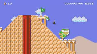 Dry Dry Temple by Vaughn - Super Mario Maker 2 - No Commentary