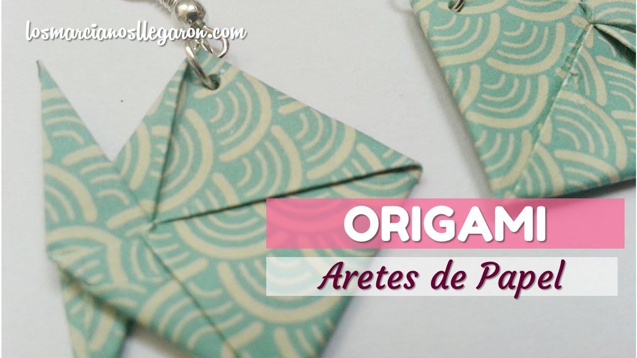Bisutera Con Origami Aretes De Youtube Conoce A Los Maestros Del