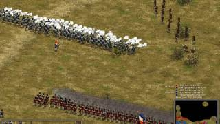 American Conquest HEW mod:1811 Battle of Abuera 3v2 multiplayer