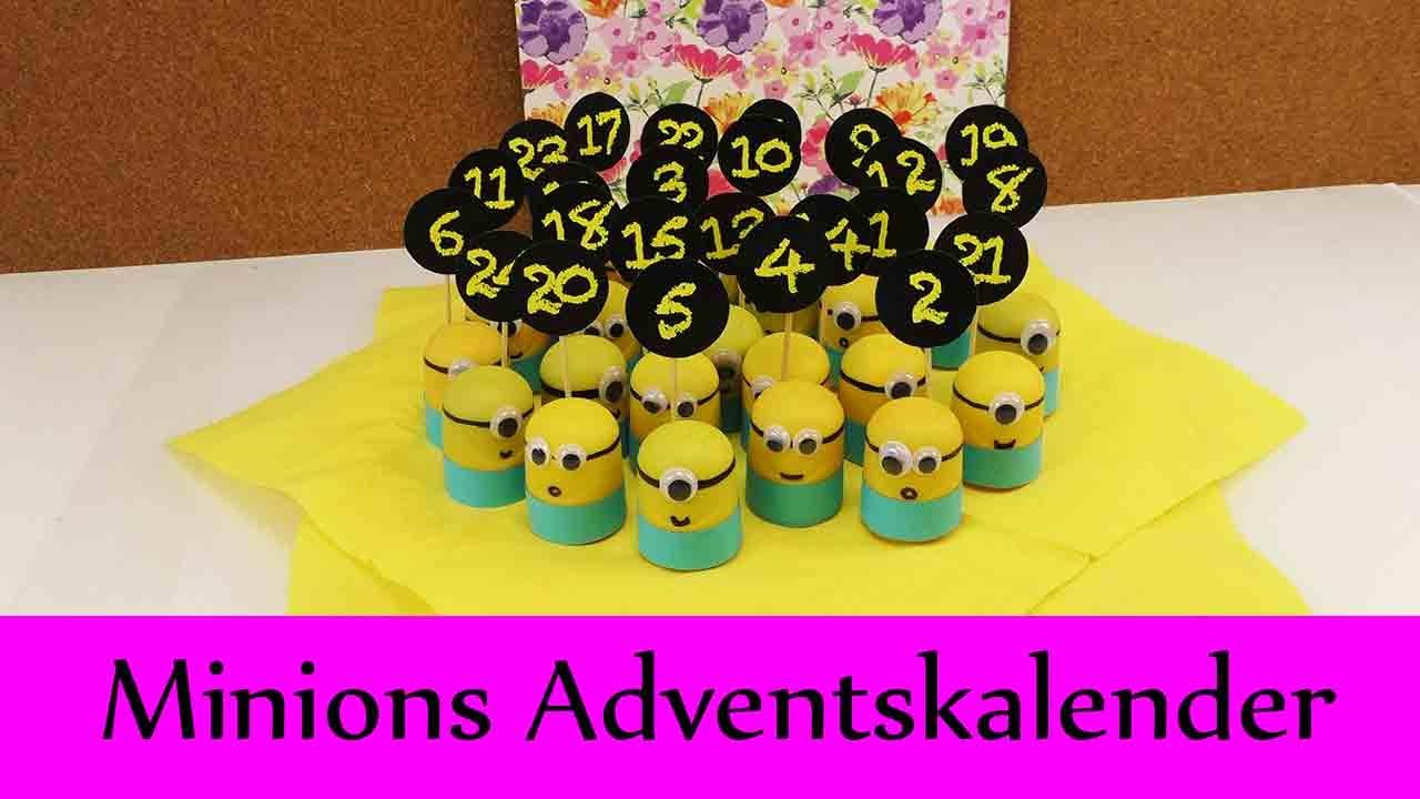 Minions Adventskalender Super Susser Adventskalender Fur Minions Fans U Eier Minions Diy