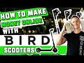 How to Make $50 Per Hour Charging Electric Bird Scooters ($200+ Per Day!)