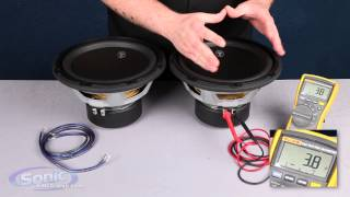 How to Wire Two Single 4 ohm Subwoofers to a 2 ohm Final Impedance | Car Audio 101