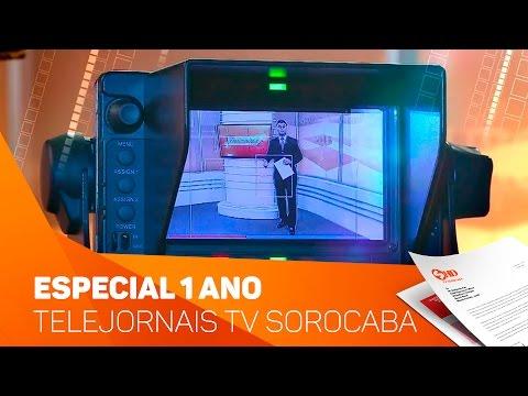 Comemoração 1 ano Noticidade Manhã e Manchetes Noticidade - TV Sorocaba/SBT