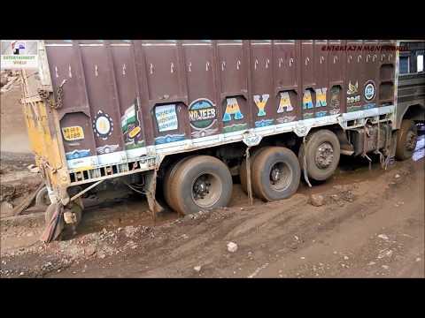 Power Of Tata LPT 3118 TC On Kachhi Sadak.
