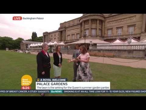The Garden Parties - Inside Buckingham Palace | Good Morning Britain
