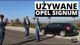 Opel Signum, 2.0 turbo, LPG, 2005 - TEST używane - Zachar OFF