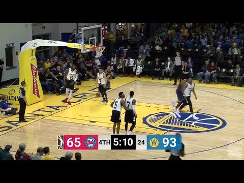 Damian Jones (11 points) Game Highlights vs. Long Island Nets