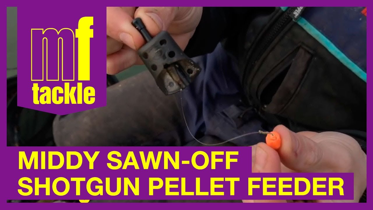 Match Fishing Exclusive Middy Sawn Off Shotgun Pellet Feeder Youtube