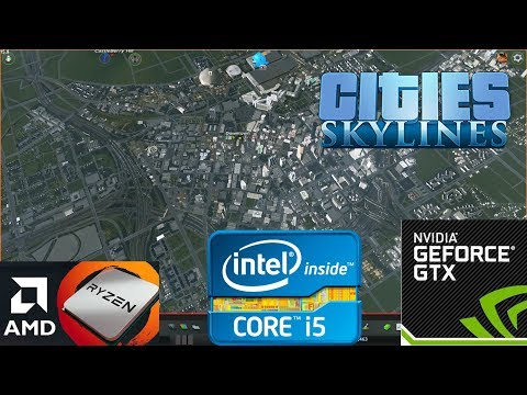 Is high-end Hardware worth it for Heavily Modded Cities Skylines? Mid-range VS High End