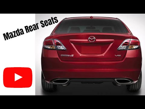 Dodge Challenger 2007 >> How to Fold Rear Seats Down in Mazda 6- No Tools Needed! - YouTube