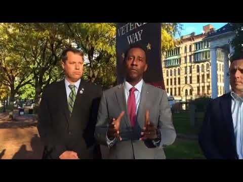 Democratic gubernatorial candidate Setti Warren wants to create 2 cabinet-level positions for veterans, elder affairs in MA