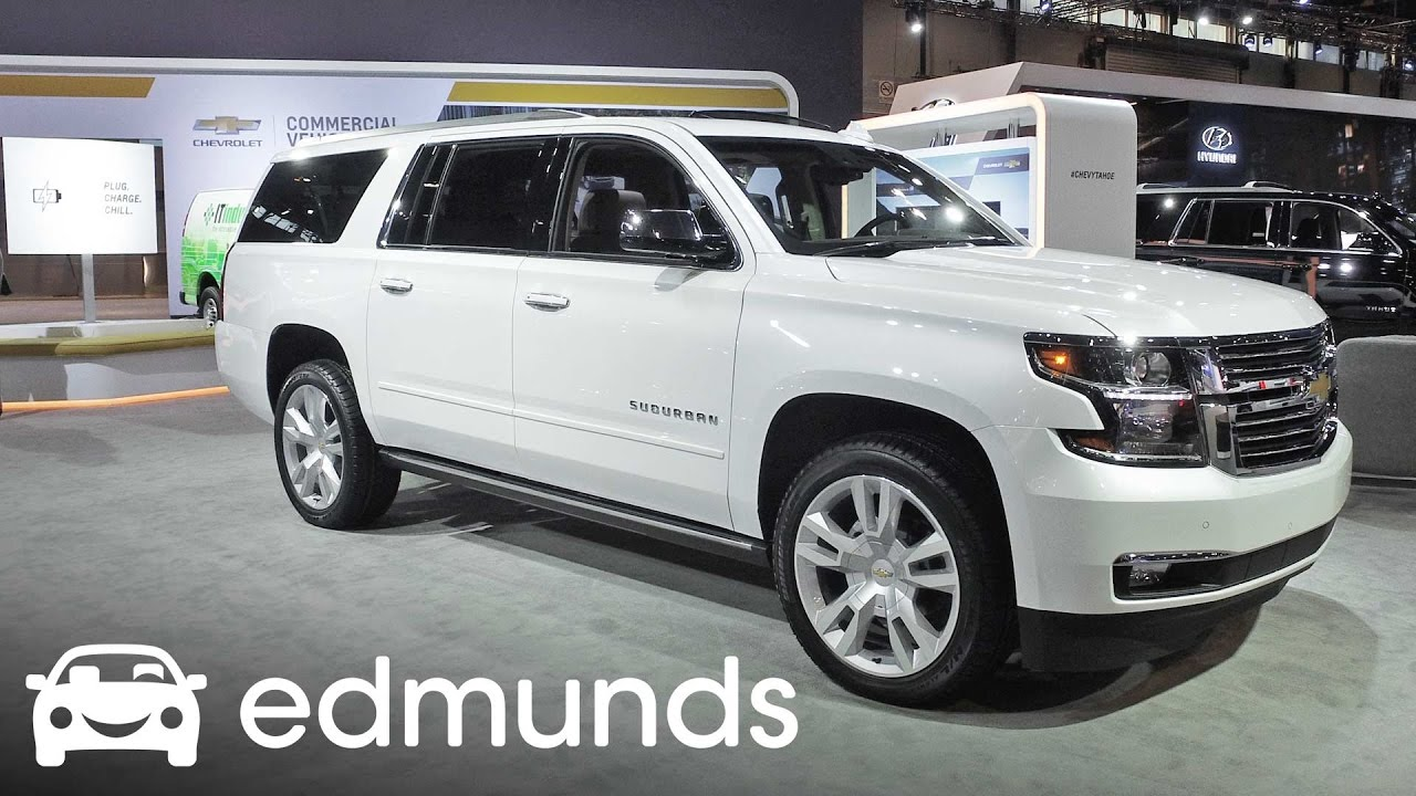 2017 chevrolet suburban review features rundown edmunds youtube. Black Bedroom Furniture Sets. Home Design Ideas