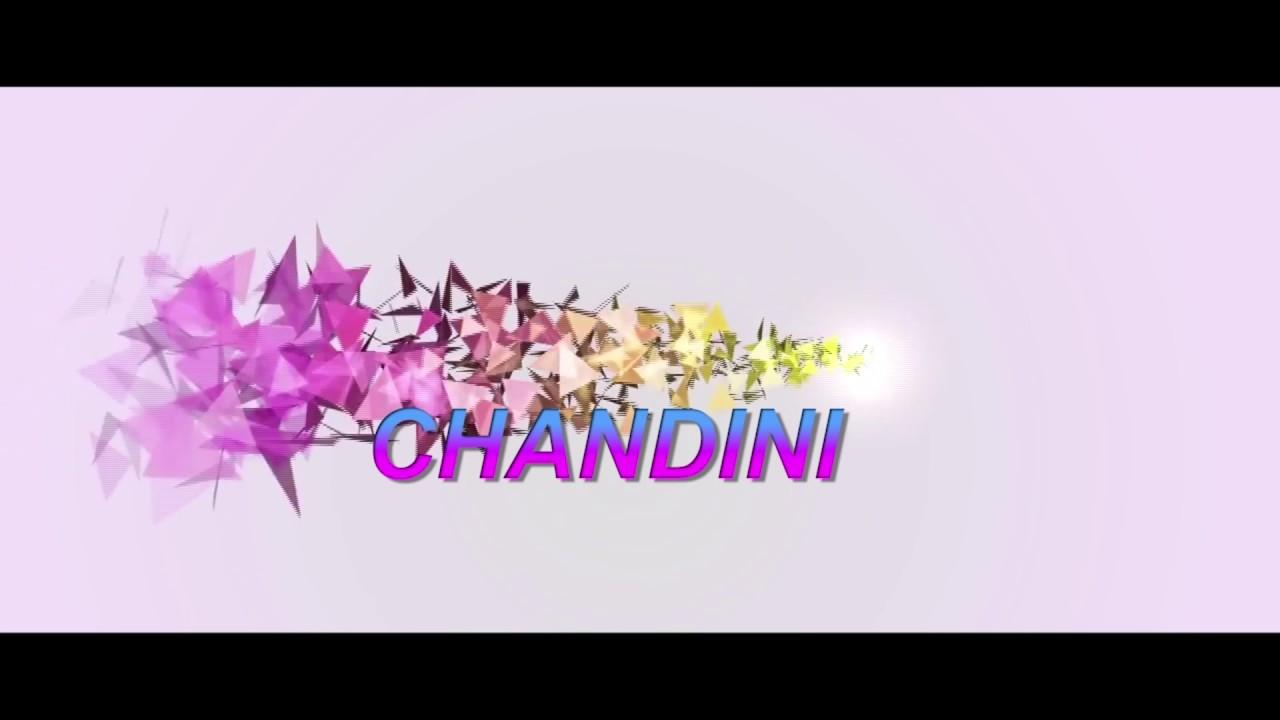 Birthday Wishes To Chandini Youtube