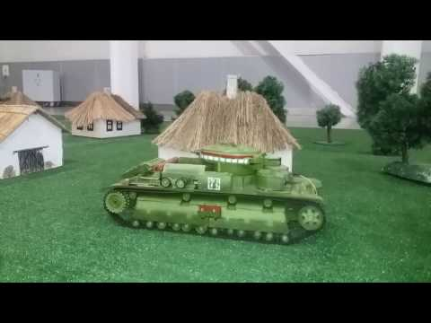 rc tank T 28 , Moscow Hobby EXPO 2017