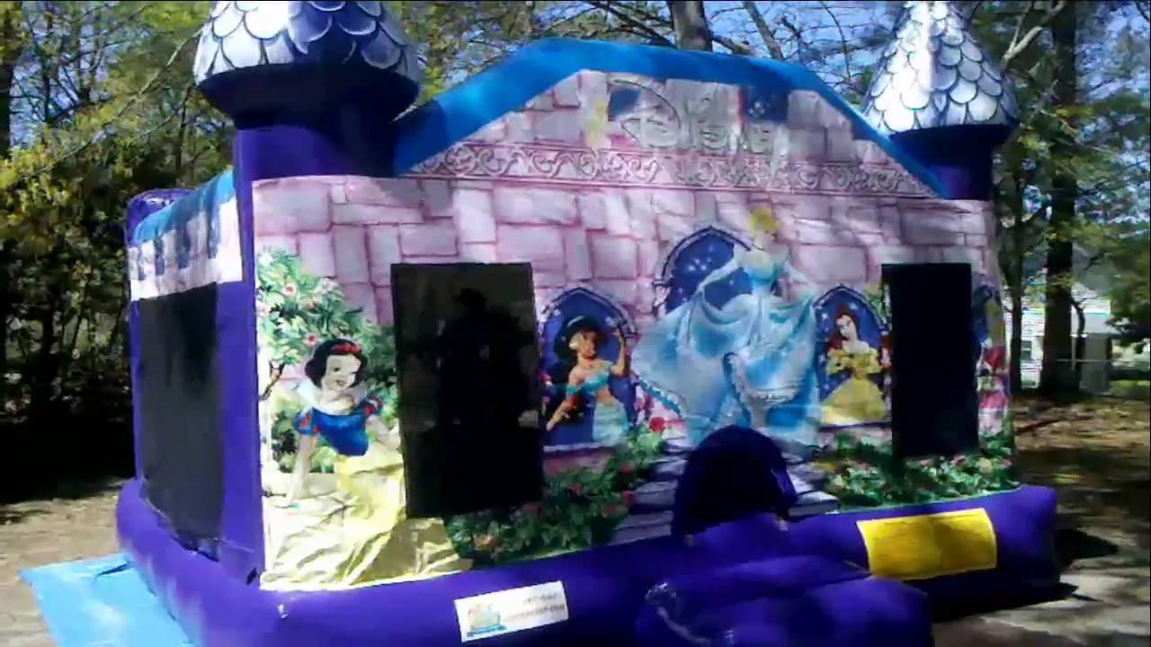 Princess Party Rental Columbia Sc Princess Bounce House Youtube