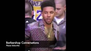 """Nick Swaggy P Young dress as The Mac""""Can You Dig it Baby""""4 game"""