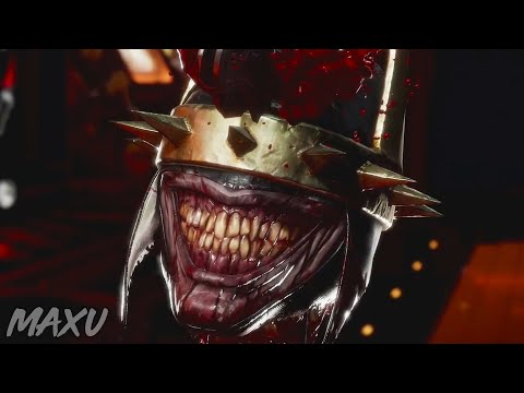 MK11 All Fatalities On The Batman Who Laughs