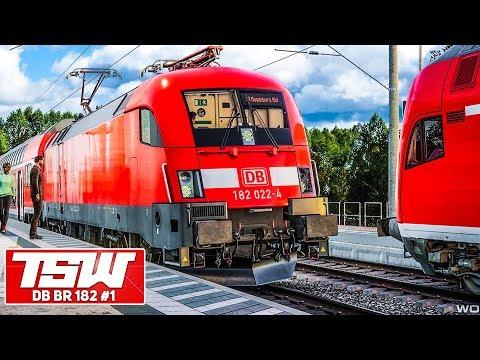 TSW: DB BR 182 TAURUS: Als Regionalexpress unterwegs in LEIPZIG | TRAIN SIM WORLD Rapid Transit