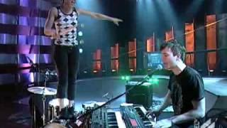 Matt And Kim Performing Daylight Live On The Daily Habit
