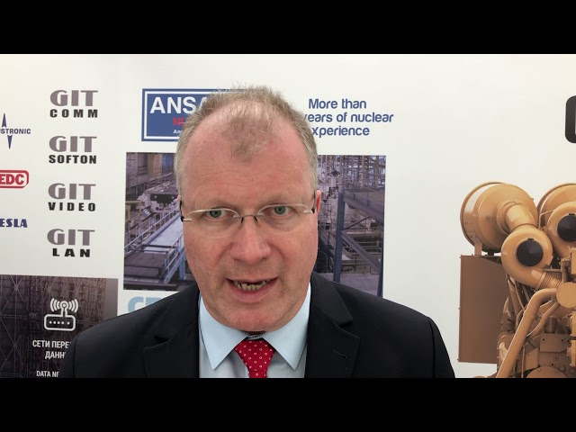 Interview with Gert Hoffmeister - Nuclear Manager at CATERPILLAR - Atomexpo 2109