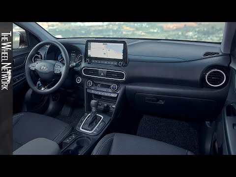 2020 Hyundai Kona Hybrid Interior