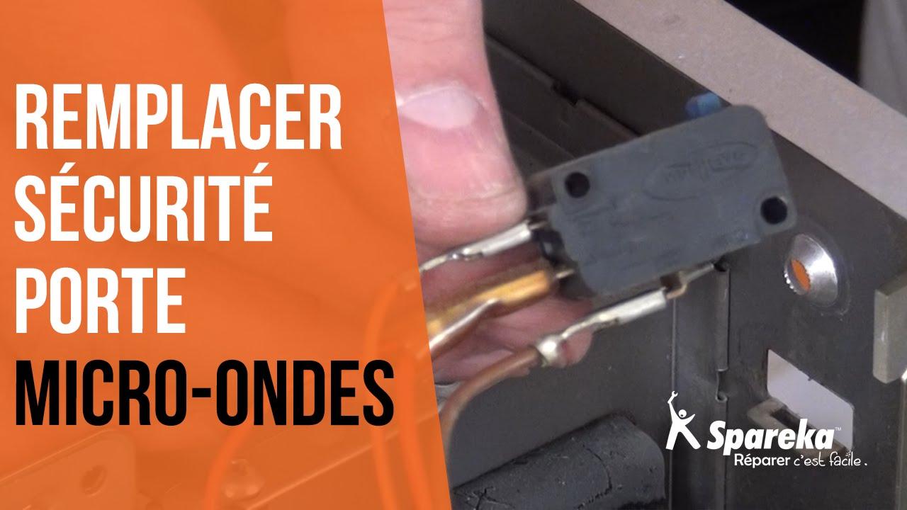 Fixation Pour Micro Onde comment remplacer la sécurité de porte d'un micro-ondes ?