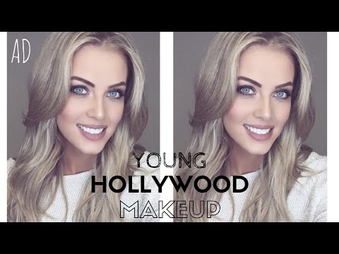 Young Hollywood Makeup Part 2   Celebrity Make-Up Artist Does My Makeup!   Chloe Boucher