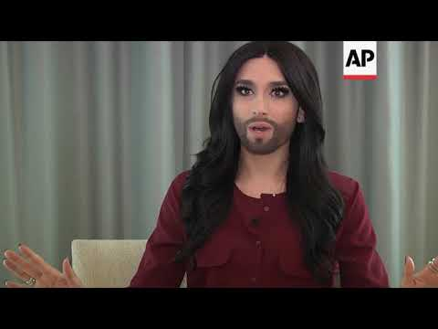 Austrian drag queen Conchita Wurst says she's HIV-positive