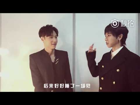 [Eng Sub] 171209 Yixing x Hua Chenyu Backstage @ Tencent Star Award