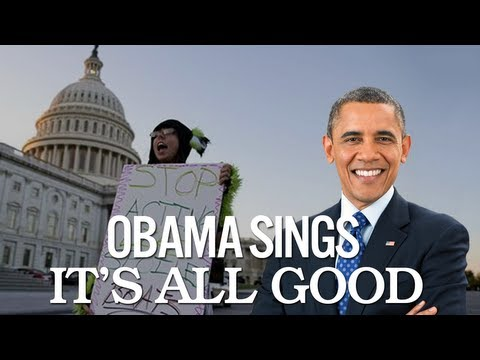 Barack and Michelle Obama Singing It's All Good by Ne-Yo and Cher Lloyd