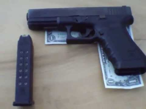 Shooting The Glock 22 40 Cal Youtube